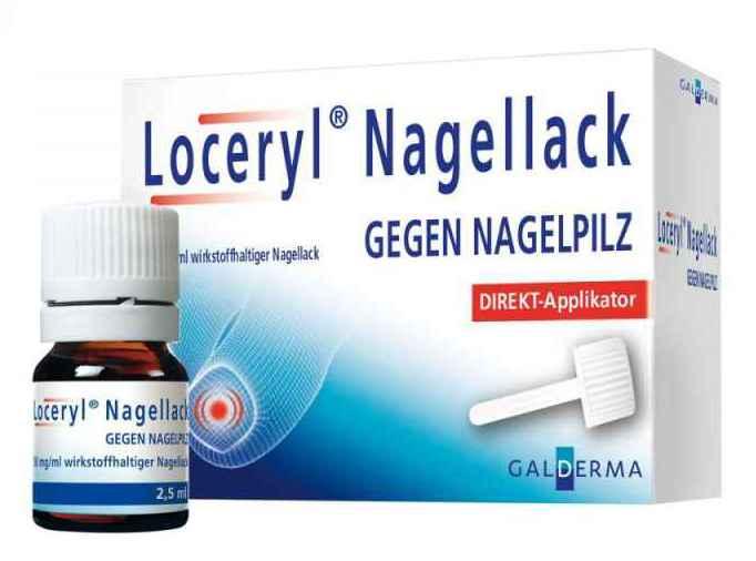 Loceryl gegen Nagelpilz