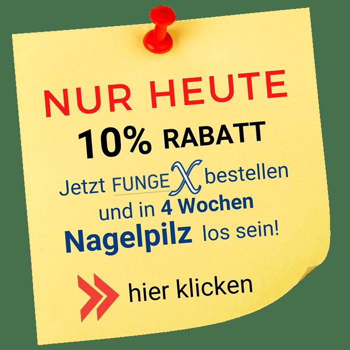 Nagelpilz-Behandlung Popup
